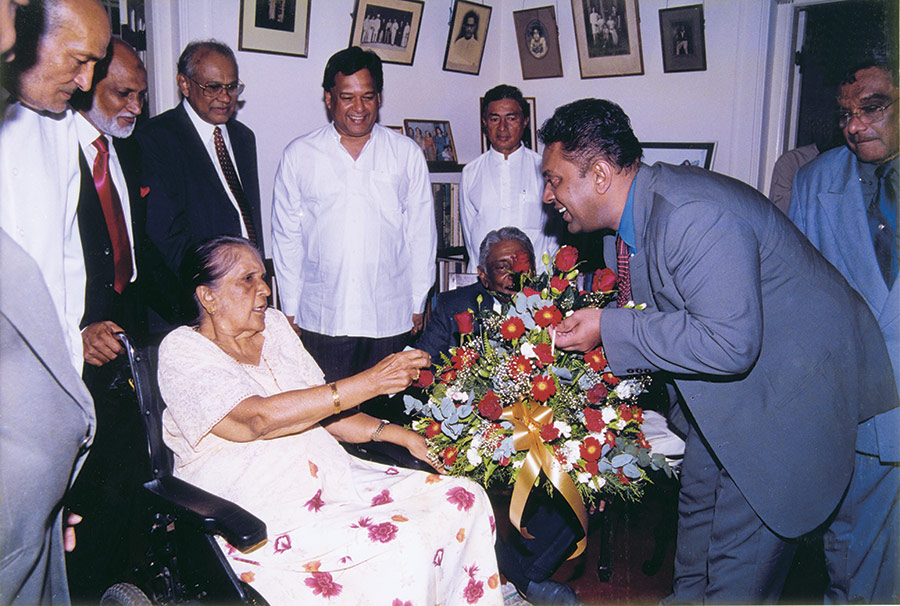 A birthday tribute to Madam Sirimavo Bandaranaike.